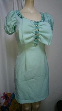 Eau Sovage ミントグリーン bigリボン ナイトドレス