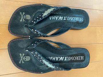HIROMU TAKAHARA ラインストーンサンダル