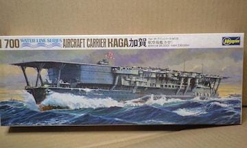 1/700 ハセガワ 日本海軍 航空母艦 加賀
