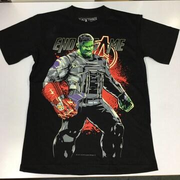 デザインTシャツ Mサイズ HULK ハルク アベンジャーズ BSET3