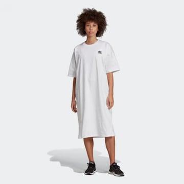 中古アディダスXSワンピース白スリットありドレス