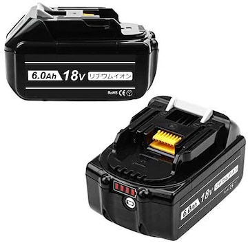 マキタ 18v バッテリーbl1860b 互換品