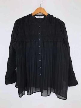 Ray BEAMS(レイビームス)プリーツ シャーリング ブラウスシャツ・ブラウス