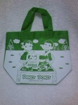 ☆ペコちゃん☆ペコポコオリジナルトートバッグ☆キミドリ☆