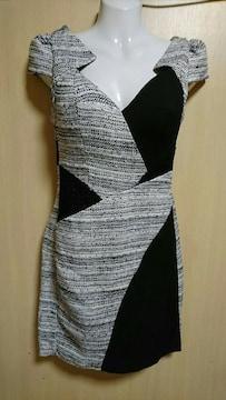 Riage 背中開き ミニドレス
