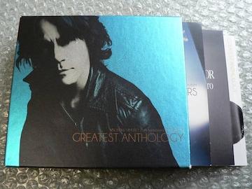 氷室京介【25th BEST-GREATEST ANTHOLOGY】初回盤/2CD+DVD