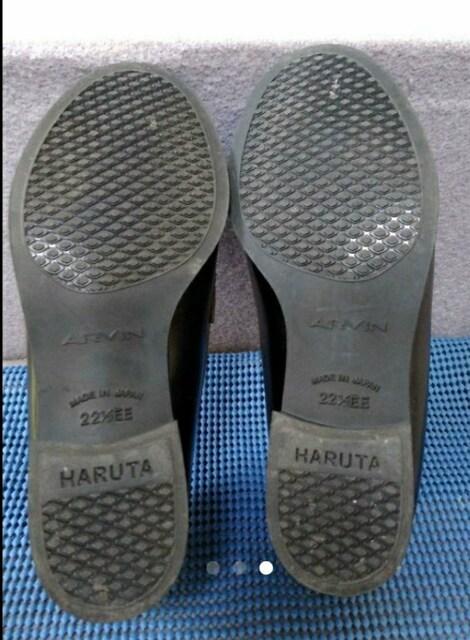 ※使用回数1回「ハルタ」ローファー22.5EE < 女性ファッションの