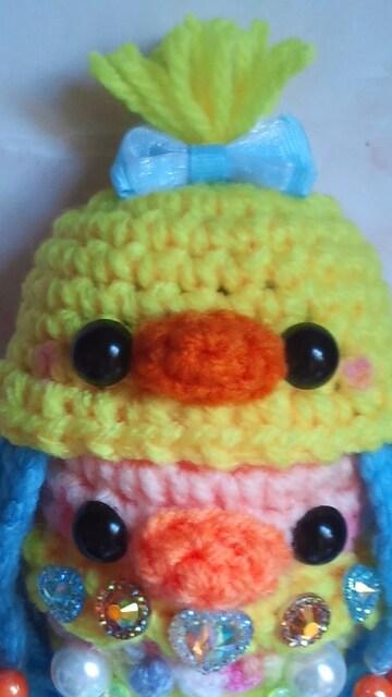 あまびえちゃん編みぐるみ