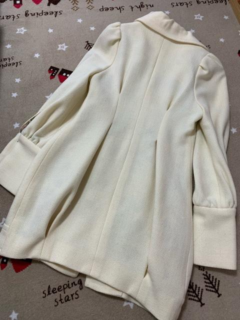H116/SWORDFISH/クリーム/コート/ < 女性ファッションの