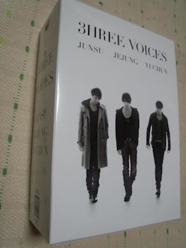 *JYJ 3HREE VOICES 初回限定DVD4枚組