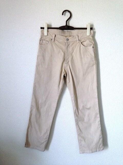 オゾック◆シンプル ベージュ カジュアル パンツ チノパン 38  < ブランドの