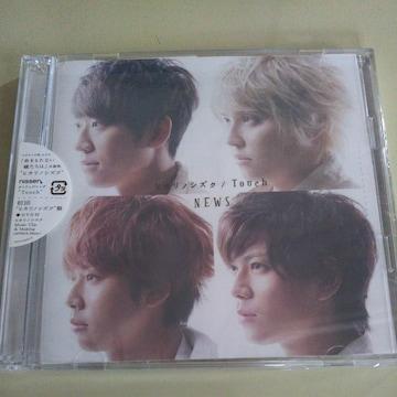 NEWS◇ヒカリノシズク Touch 初回ヒカリノシズク盤 CD+DVD 中古