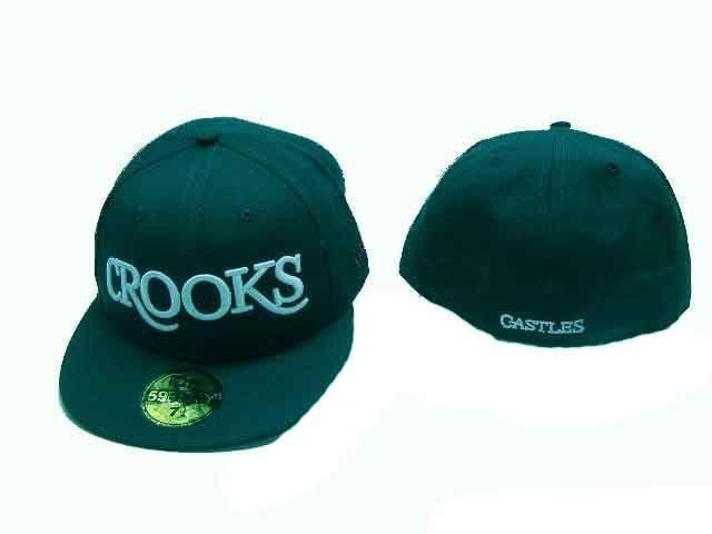 7 1/8 新品クルックス&キャセルCROOKS LA ストリートOGヒップホップ B系  < ブランドの