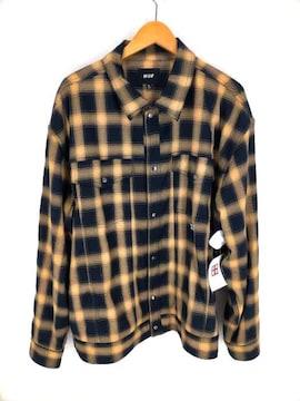 HUF(ハフ)HOMBRE TRUCKER SHIRTシャツ