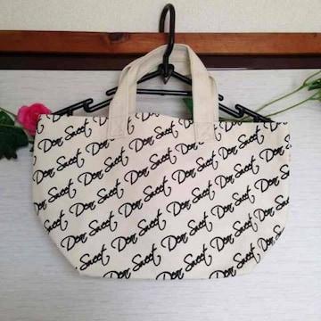 参考価格2850円Dear Sweetロゴ キャンバス ランチ トートバッグ