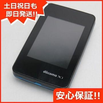 ●美品●L-01G Wi-Fi STATION(クロッシィ) ブラック●