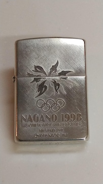 ZIPPO ジッポ 長野オリンピック 限定 シリアルNo. 640