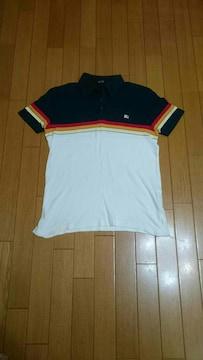 BURBERRY  BLACK LABEL半袖ポロシャツ
