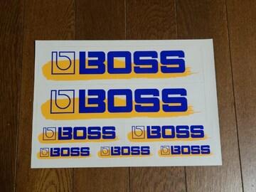 送料無料/BOSS年代物オリジナルステッカーセット