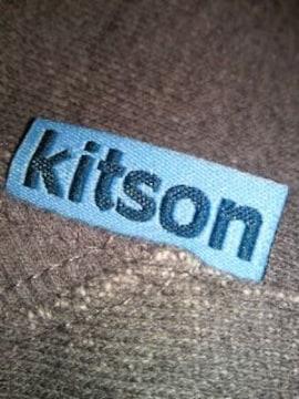 kitson キットソン UNIQLO ユニクロ コラボ ロング パーカー スエット グレー Mサイズ