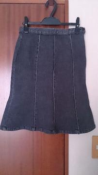 POWER PLANT★パワープラント★デニムマーメードスカート