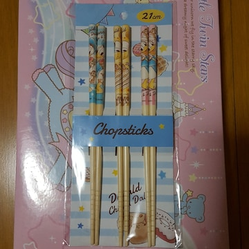 新品〓ディズニー★竹箸  3Pセット☆ドナルド・チップ&デール♪