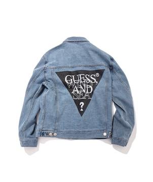 GUESS × WIND AND SEA デニムジャケット Gジャン XL