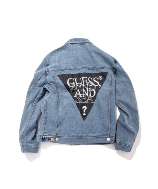GUESS × WIND AND SEA デニムジャケット Gジャン XL  < ブランドの
