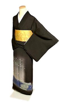 【最高峰】新品同様 巨匠 本加賀友禅【柿本市郎】色留袖 T1973