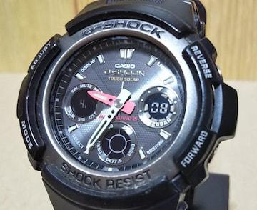 CASIO G-SHOCK AWG-101 電波 ソーラー アナデジ 腕時計