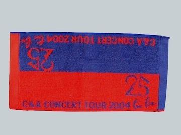 ☆【CHAGE&ASKA】CONCERT TOUR 2004 two five ミニハンドタオル