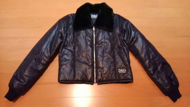 D&GディーアンドジーDOLCE&GABBANAドルガバ★ファーショート丈ブルゾンジャケットコート  < ブランドの