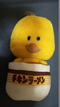 チキンラーメン ひよこちゃんぬいぐるみ 新品