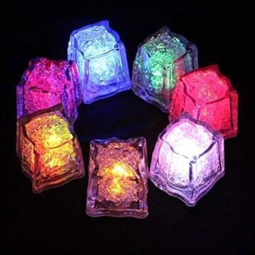 お試し価格1090円★超人気 光る氷 LEDセンサーライト 12個
