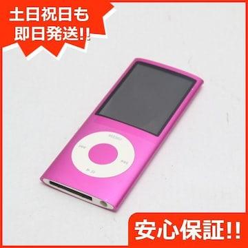 ●安心保証●美品●iPOD nano 第4世代 8GB ピンク●