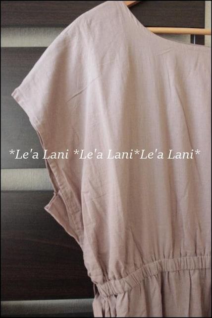 4L*インド綿100%*ナチュラルワンピース♪大きいサイズ < 女性ファッションの