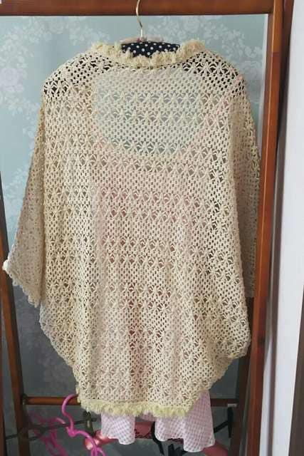 透かし編みボレロ&コラボワンピセット/ロジータ < 女性ファッションの