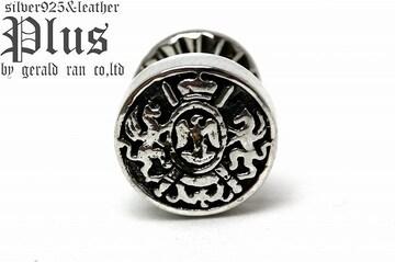 送料無料!紋章コンチョ(シルバー925、財布