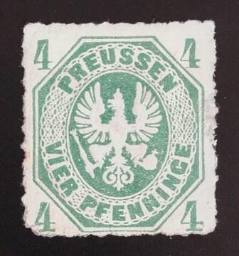 1861年ドイツ プロセイン切手4pf