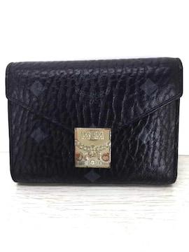 MCM(エムシーエム)3つ折り財布 PATRICIA FLAP WALLET三つ折り財布