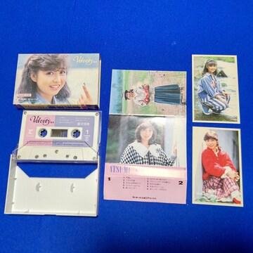 カセットテープ 倉沢淳美 4thアルバム '85/9 ベルビティ 全10曲 六月の花嫁