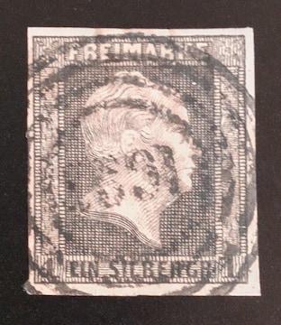 1850-56年ドイツ プロセイン切手1sgr 使用済み