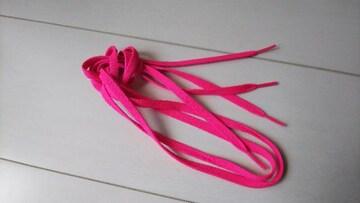 靴紐 ピンク