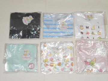 UNIQLO すみっコぐらし 半袖Tシャツ 100サイズ 全6種類セット