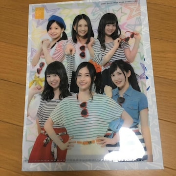 SKE48 ローソン コラボ クリアファイル