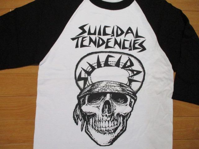 スイサイダルテンデンシーズ 7分 Tシャツ USA−S 未使用品 < 男性ファッションの