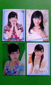 AKB48トレーディングコレクション2渡辺麻友・カード4枚