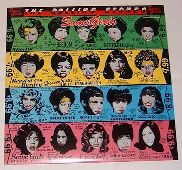 ザ・ローリング・ストーンズ『女たち』初回発売LP