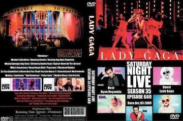 LADY GAGA SATURDAY LIVE 2009レディーガガ