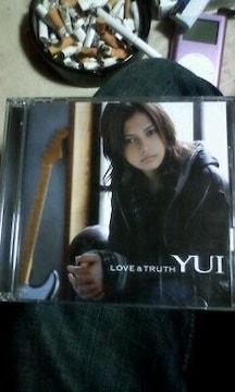 YUICD「LOVE&TRUTH」初回限定版